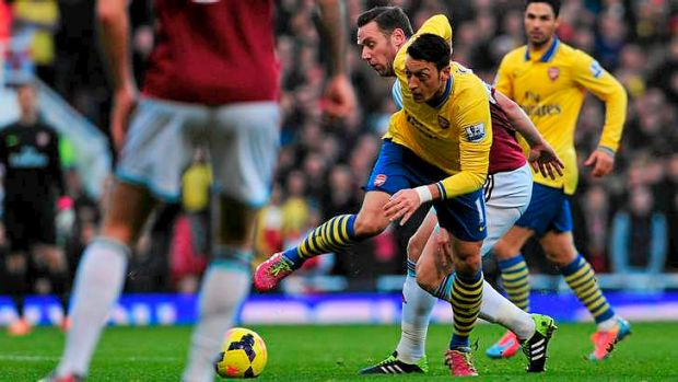 Will Mesut Ozil and Arsenal taste success in the Premier League.