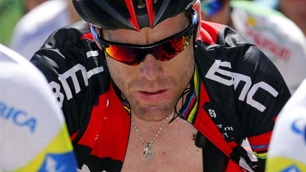 First timer: Cadel Evans has never done the Mount Buninyong run.