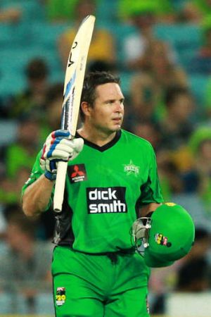Brad Hodge is tipped to play for the Prime Minister's XI against England on January 14.