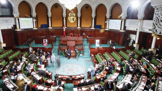 "Tunisia's Parliament debates a new draft constitution that would guarantee equality ""without discrimination""."