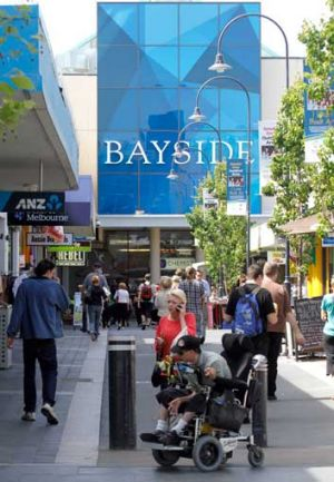 Bayside shopping centre in Frankston.