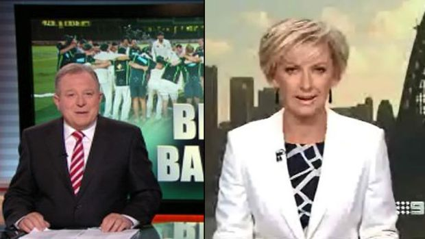 Melbourne's Peter Hitchener and Sydney's Deborah Knight win the news ratings with Nine's one-hour 6pm bulletin over ...
