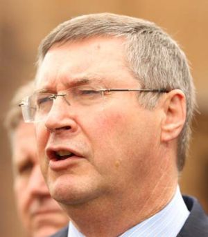 On side: NSW Attorney-General Greg Smith is said to have shown 'tentative support' for sentencing reforms.