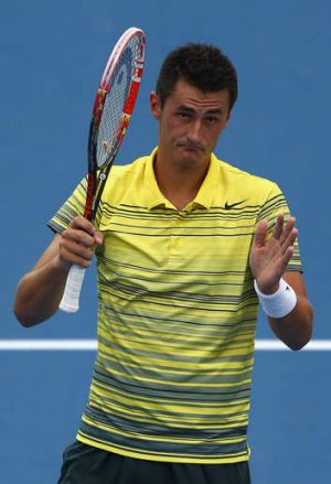 """Having my dad there is a very good feeling"": Bernard Tomic."