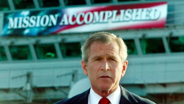 """""""Not initially informed"""": A new book says the CIA, and not George W. Bush, approved waterboarding."""