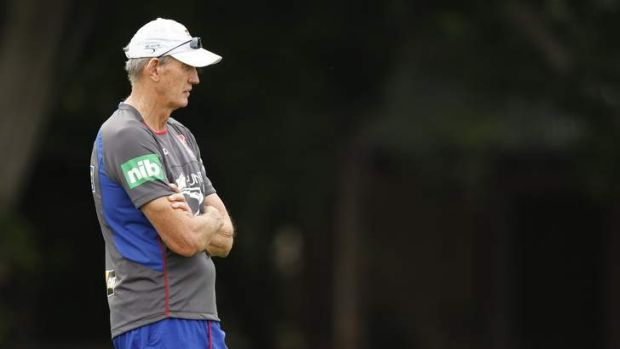"""The great tragedy with Russell is that we never had the chance to work with him"": Knights coach Wayne Bennett."