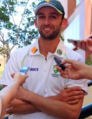 Nathan Lyon has grown into the role of Australia's spin bowler.