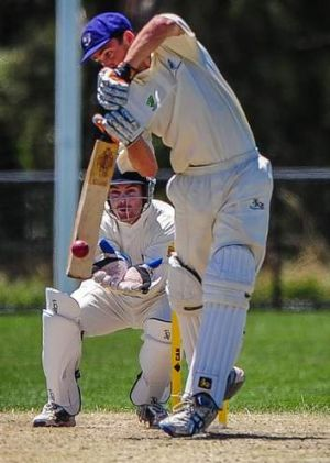 NSW batsman Mark Littlewood made 96 on day one of the Australian Country Cricket Championships.