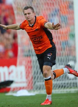 Besart Berisha leads the Roar's scoring charts with five strikes despite making just seven appearances in an injury-hit ...
