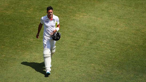 England batsman Kevin Pietersen.
