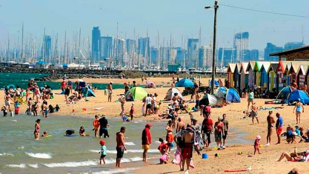 The weather bureau is warning of a stretch of hot days for the north of the state ... but Melburnians may not be ...