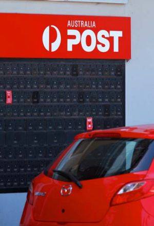 Heading for privatisation?: Australia Post.