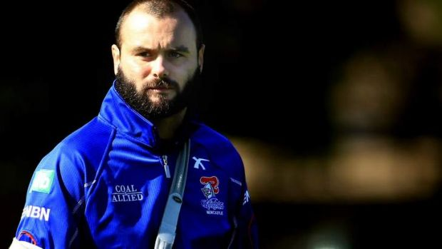 Newcastle Knights community and charity support manager Ben Rogers.