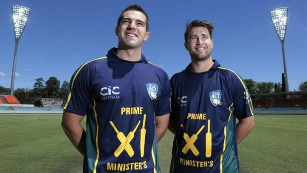 Canberra's Michael Spaseski and Shane Devoy will represent the PM's XI against England at Manuka Oval.