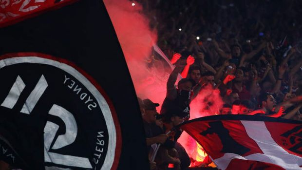The good, the bad and the ugly: the Western Sydney Wanderers are well supported.