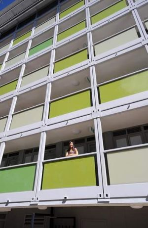 Students are finding it tough to find somewhere to live.