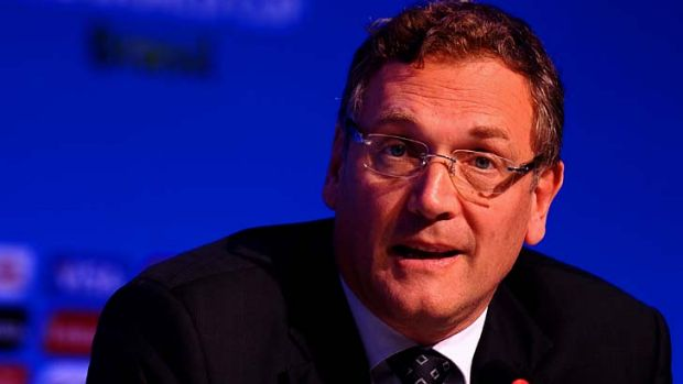Mixed messages: Jerome Valcke.