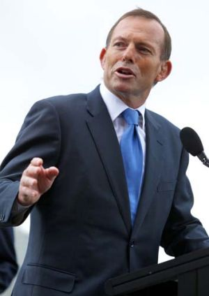 Prime Minister Tony Abbott: ''The point is not to provide sport for public discussion, the point is to stop the boats.''