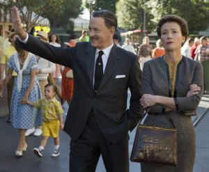 Tom Hanks and Emma Thompson in <i>Saving Mr Banks</i>.