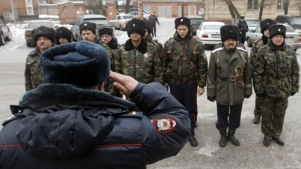 Additional manpower:  Cossacks will serve in uniform and alongside regular police officers in Sochi.