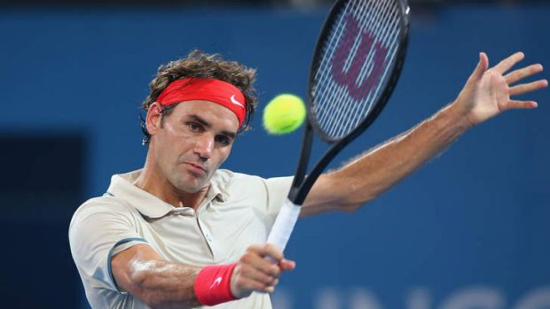 'These days, when he serves and volleys, he doesn't come to the net like he really means it' says tennis legend John ...