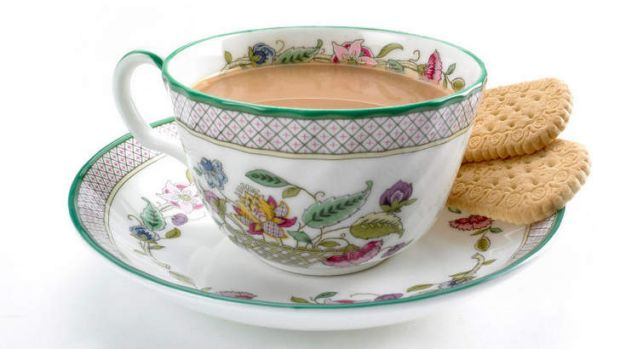 A cup of traditional English tea.