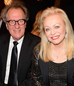 Aussies at the AACTAs: Geoffrey Rush and Jacki Weaver.