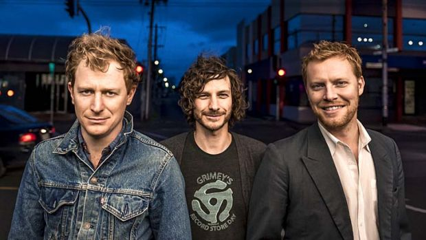 Few options: The Basics struggled to get air-play on Triple J.