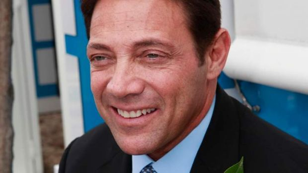 Jordan Belfort at the Melbourne Cup 2011.