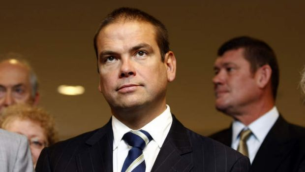 Lachlan Murdoch comes in for a 'bruising'.