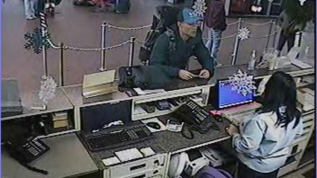 Captain Paul McKay, from Canberra, at the Albany bus terminal on December 30, the day before he was last seen.