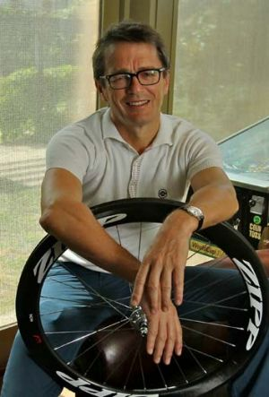 Cycling team owner Michael Drapac.