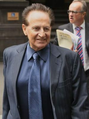 Edelsten leaves court.