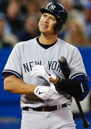 A year to repent: Alex Rodriguez.