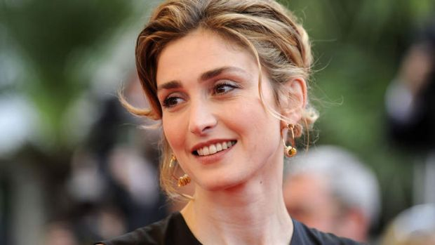 Affair claims: French actress Julie Gayet.