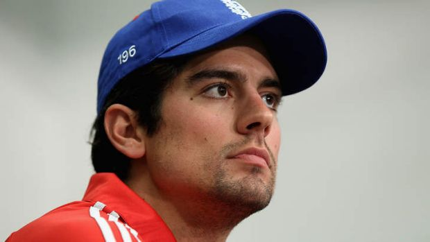 Catch controversy:  English captain Alastair Cook.