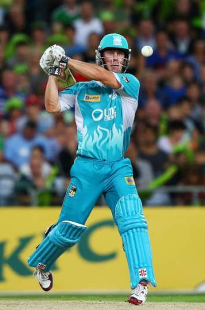 Chris Lynn: Ruled out of the PM's XI side.