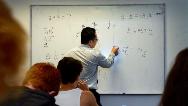 """While Australian students perform reasonably well in international mathematics and science tests, there are always a ..."