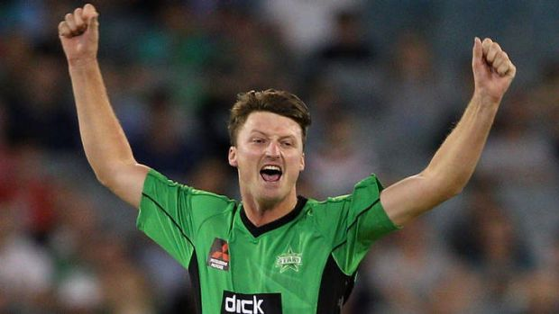 Jackson Bird has taken 12 wickets for the Stars in the 2013/14 Big Bash League.