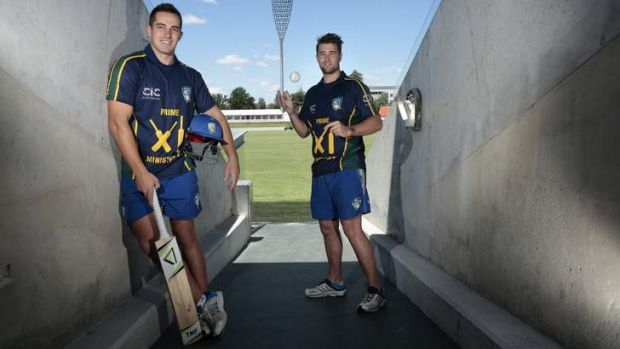 ACT players Michael Spaseski and Shane Devoy are both in the PM's XI squad.