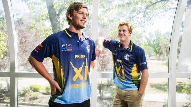 Brothers Ben and Alister McDermott will both play in the PM's XI team.