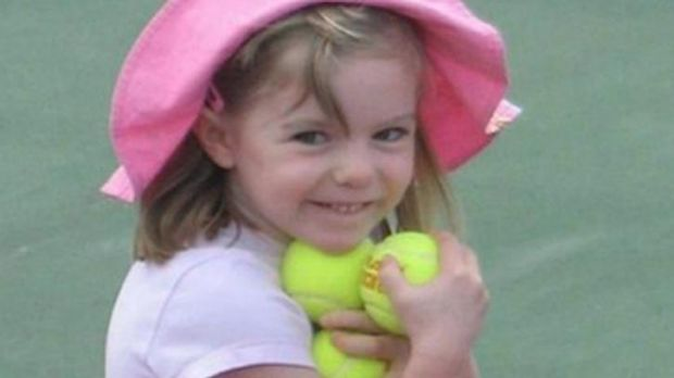 British girl Madeleine McCann before she went missing from a Portuguese holiday complex on Thursday, May 3, 2007.