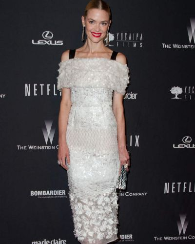 Hart of Dixie actress Jaime King attends The Weinstein Company & Netflix's 2014 Golden Globes After Party.