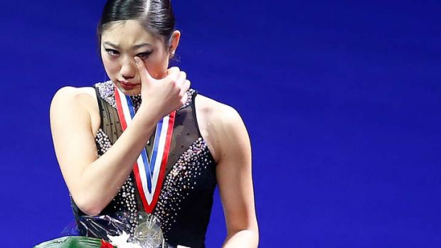 Snubbed: Mirai Nagasu finished third put was replaced by Wagner for the Olympics.