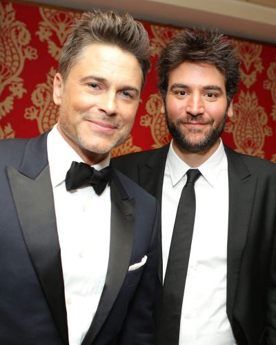 Actors Rob Lowe and Josh Radnor attend HBO's Post 2014 Golden Globe Awards Party.
