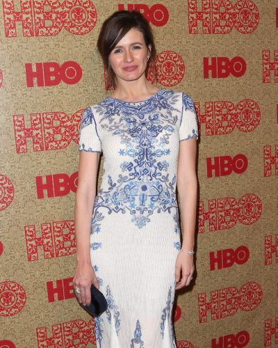 Newsroom star Emily Mortimer attends HBO's Post 2014 Golden Globe Awards Party.