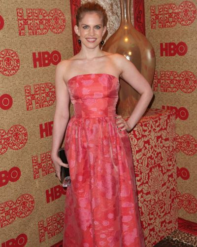 Veep actress Anna Chlumsky attends HBO's Post 2014 Golden Globe Awards Party.