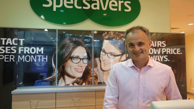Peter Larsen: converted an existing business to a Specsavers store.