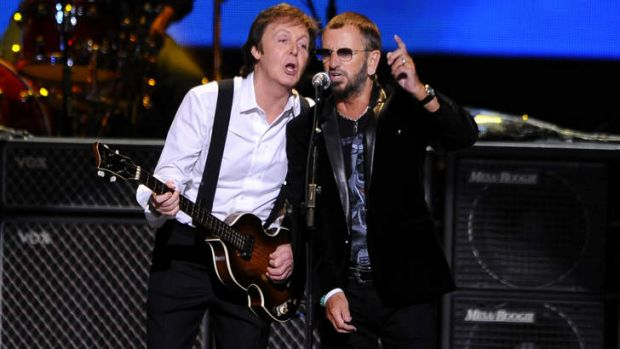Beatles Paul McCartney and Ringo Starr last performing together in 2009, will now star at this year's Grammy awards show.