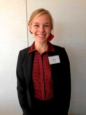 Katharine Gentry will graduate from the induction program on Thursday before she is placed at Warracknabeal Secondary ...